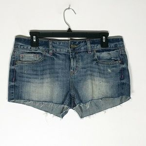 Victoria's Secret PINK Shorts Womens 6 Denim